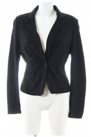 QS by s.Oliver Sweat Blazer black business style