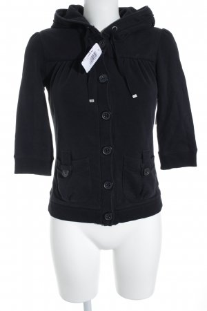 QS by s.Oliver Sweatjacke schwarz Casual-Look