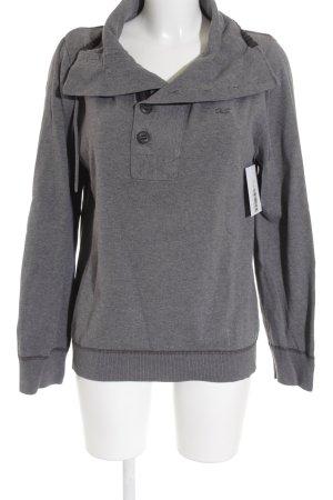 QS by s.Oliver Sweatshirt gris style décontracté
