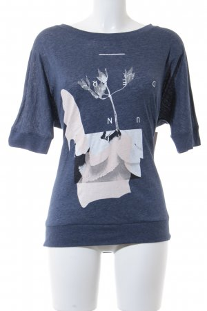 QS by s.Oliver T-Shirt dunkelblau Casual-Look
