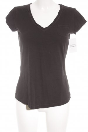 QS by s.Oliver T-Shirt schwarz Casual-Look