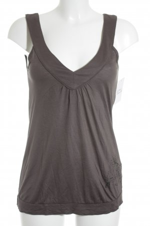 QS by s.Oliver Tanktop grau Casual-Look