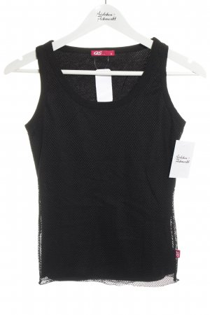 QS by s.Oliver Tanktop schwarz Casual-Look