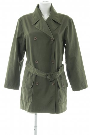 QS by s.Oliver Trenchcoat olivgrün Casual-Look