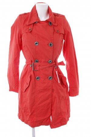 QS by s.Oliver Trenchcoat rot Casual-Look