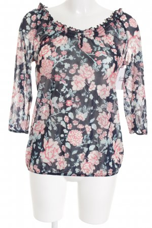 QS by s.Oliver Tunikabluse florales Muster Gypsy-Look