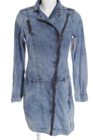 QS by s.Oliver Übergangsjacke hellblau-stahlblau Street-Fashion-Look