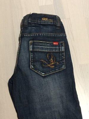 QS dreiviertel Jeans