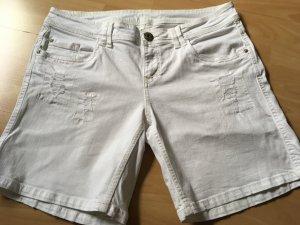 QS Kurze Hose in weiß