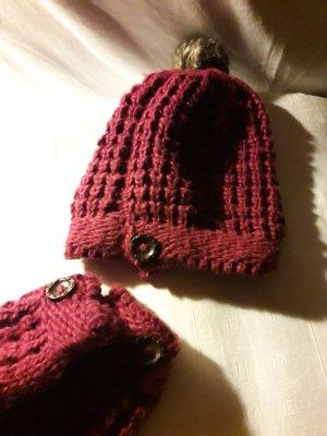 QS. Mütze + Handschuhe.
