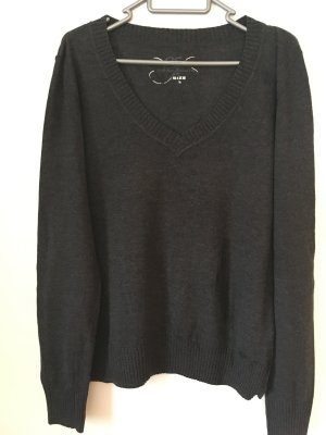 QS Pullover in grau, Größe L