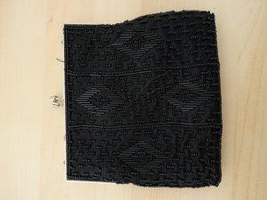 Quadratische Clutch / elegant / Pailletten