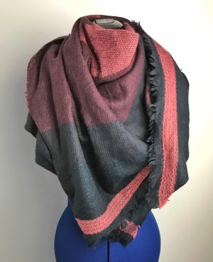 Pieces Sjaal met franjes veelkleurig