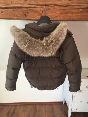 Quartz Nature Jacke Winterjacke khaki Daunenjacke S Canada Goose
