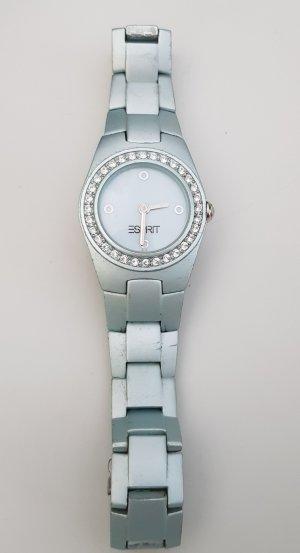 Esprit Watch With Metal Strap pale blue
