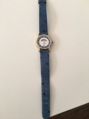 Regent Watch With Leather Strap multicolored