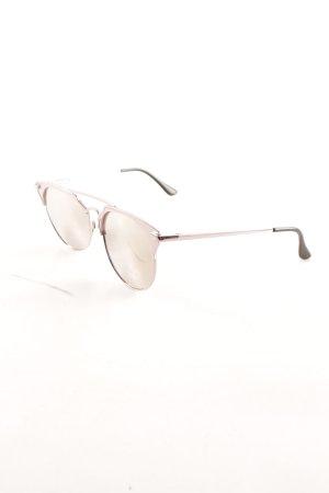 Quay Brille roségoldfarben Casual-Look