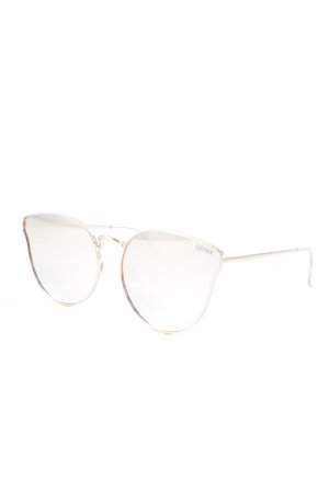 Quay Glasses rose-gold-coloured casual look