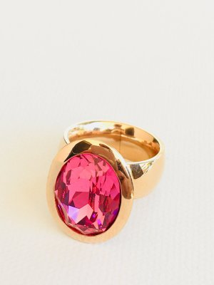 Lizas Ring rose-gold-coloured-pink stainless steel
