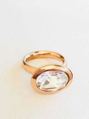 Lizas Ring rose-gold-coloured-white stainless steel