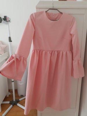 Asos A Line Dress rose-gold-coloured