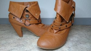 ★ Queentina Ankle Boots braun ★