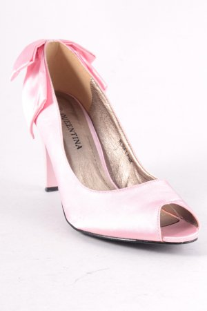 Queentina Peeptoe Pumps rosa Elegant