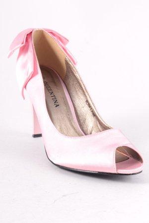 Queentina Peeptoe Pumps rosa Elegant
