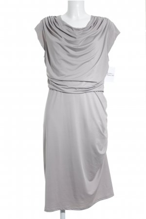 Queenus Stretch jurk lichtgrijs simpele stijl