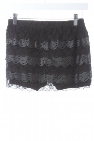 Queguapa Culotte Skirt black beach look