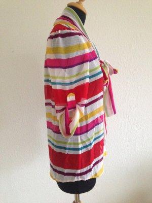 Querstreifen Colourblock Schluppenbluse Elegant feminin sportlich zeitlos Luxus