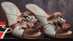High Heel Sandal beige leather