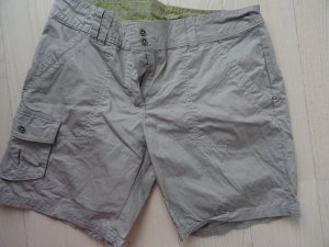 Short Trousers light grey-lime-green