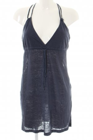 Quicksilver Spaghetti Strap Top blue flecked casual look