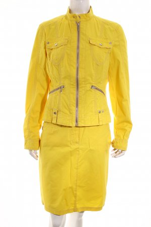 Quiero Kostüm gelb Retro-Look