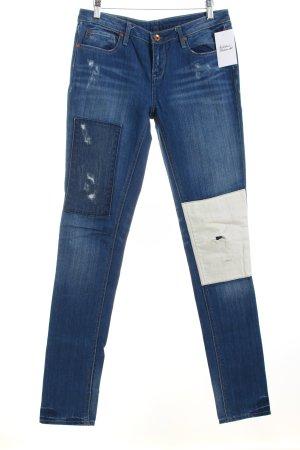 Quiksilver Skinny Jeans stahlblau Casual-Look