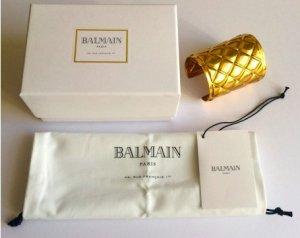 Quilted Gold Color BALMAIN Bracelet