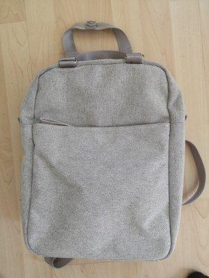 Laptop Backpack light grey-primrose
