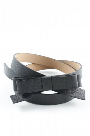 R.E.D. Valentino Leather Belt black casual look