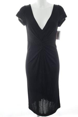 R.E.D. Valentino Stretchkleid schwarz klassischer Stil