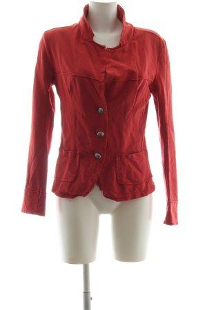 R Jeans Blouson rouge style décontracté