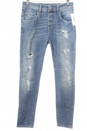 R Jeans Vaquero boyfriend azul look casual