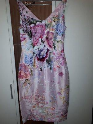R. Nucci, Seidenkleid, Seide, Shantungseide, Blumen, Hochzeit