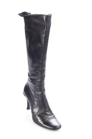 R&Renzi Absatz Stiefel schwarz klassischer Stil