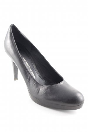 R&Renzi Plateau-Pumps schwarz Business-Look