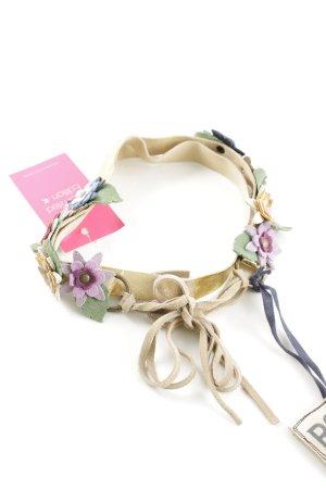 R95th Waist Belt flower pattern casual look