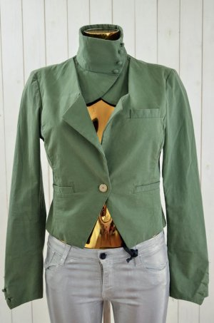 Rare london Tailcoat olive green-green cotton