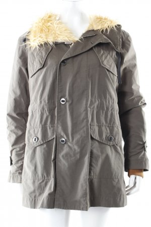 Ra-Re hooded coat with fur lining