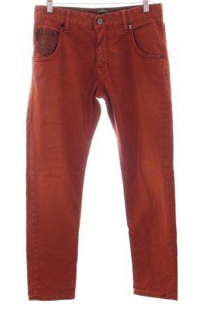 Ra-Re Slim Jeans dunkelorange-schwarz Casual-Look