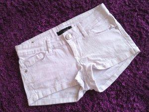 %Rabattaktion:sexy weiße Hotpants/kurze Hose/Jeans,Gr.